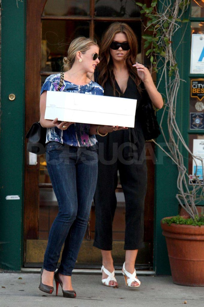 Audrina and Lo Work Together