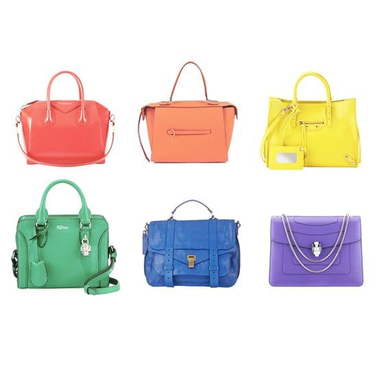 Shop Rainbow-Colored Handbags
