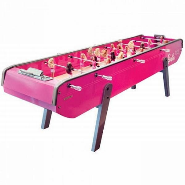 Bonzini Babyfoot Barbie Foosball Table ($25,000)