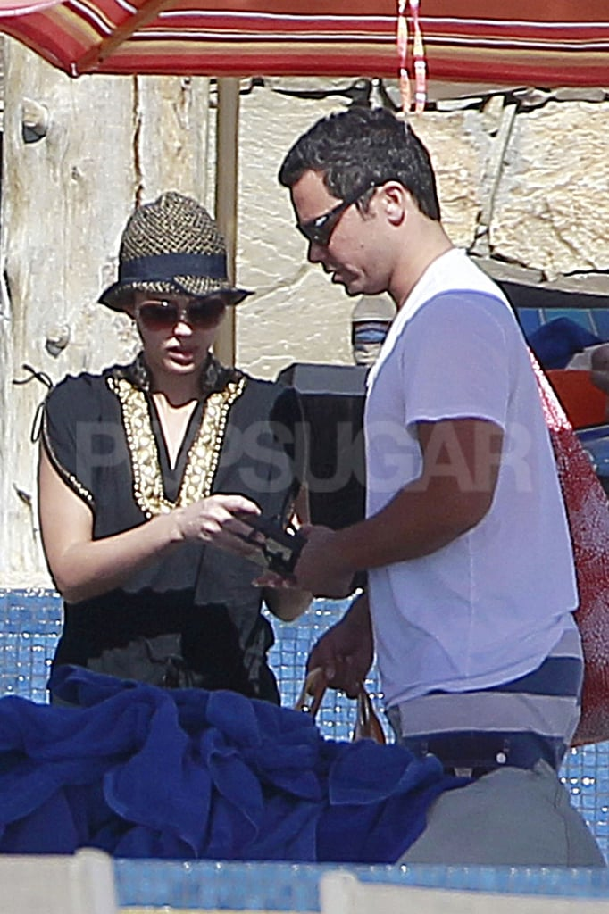 Jessica Alba and Cash Warren were in Cabo together.