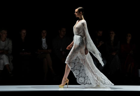 Runway Review and Pictures of Lover's Spring Summer 2011-2012 RAFW Fashion Week Catwalk Show