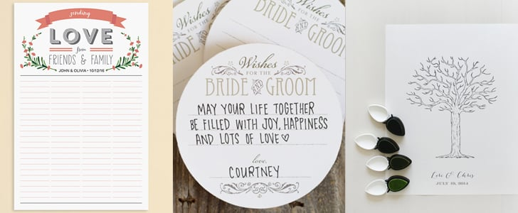 Free Wedding GuestBook Printables  Popsugar Smart Living