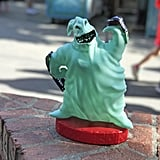 You can snack on popcorn out of Oogie Boogie buckets.