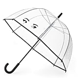 Kate Spade Winking Eyes Bubble Umbrella ($38) because everyone should see how cute you look, despite the rain.