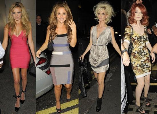 Photos Of Girls Aloud Nadine Coyle, Kimberley Walsh, Nicola Roberts And Sarah Harding After The X Factor