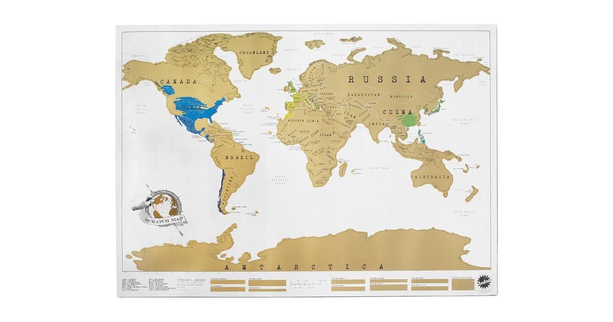 ScratchOff Map - Us scratch off map