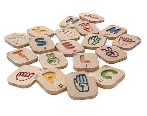PlanToys Hand Sign Alphabet