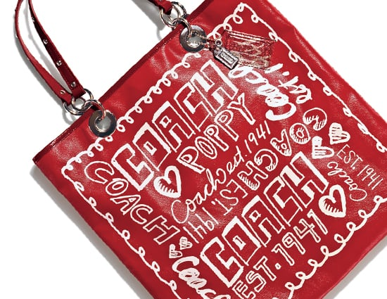 Coach Evie Tote ($198)  Graphic-logo-printed coated canvas