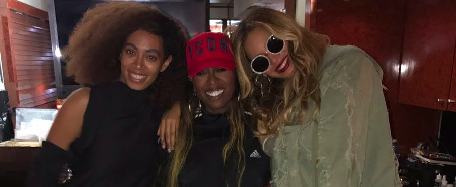 Beyonce With Solange and Missy Elliot at FYF Fest July 2017