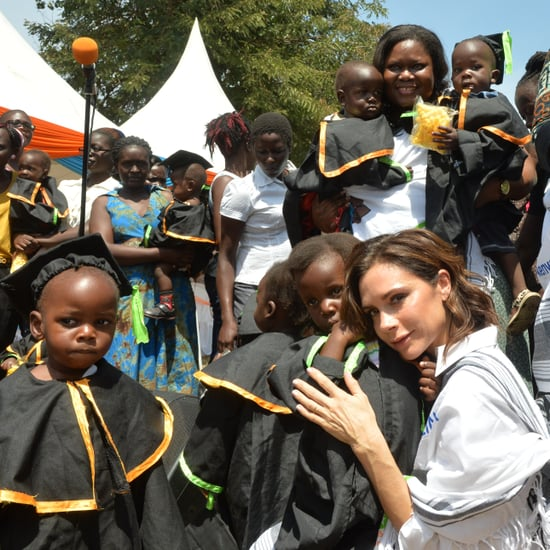 Victoria and Brooklyn Beckham Visit Kenya With UNAIDS 2016
