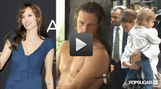 Video of Angelina Jolie Promoting Salt in Europe, Video of Gabriel Aubry Shirtless For Charisma, and Jessica Alba Interview Abou 2010-08-18 14:30:00