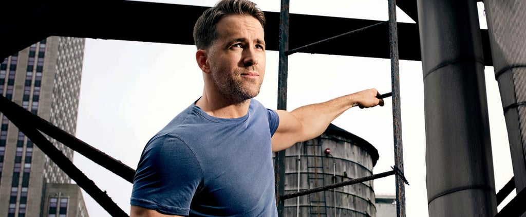 Here's Ryan Reynolds Genuinely Looking Like He Was Chiselled From Stone