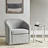 Martha Stewart Amber Swivel Barrel Chair