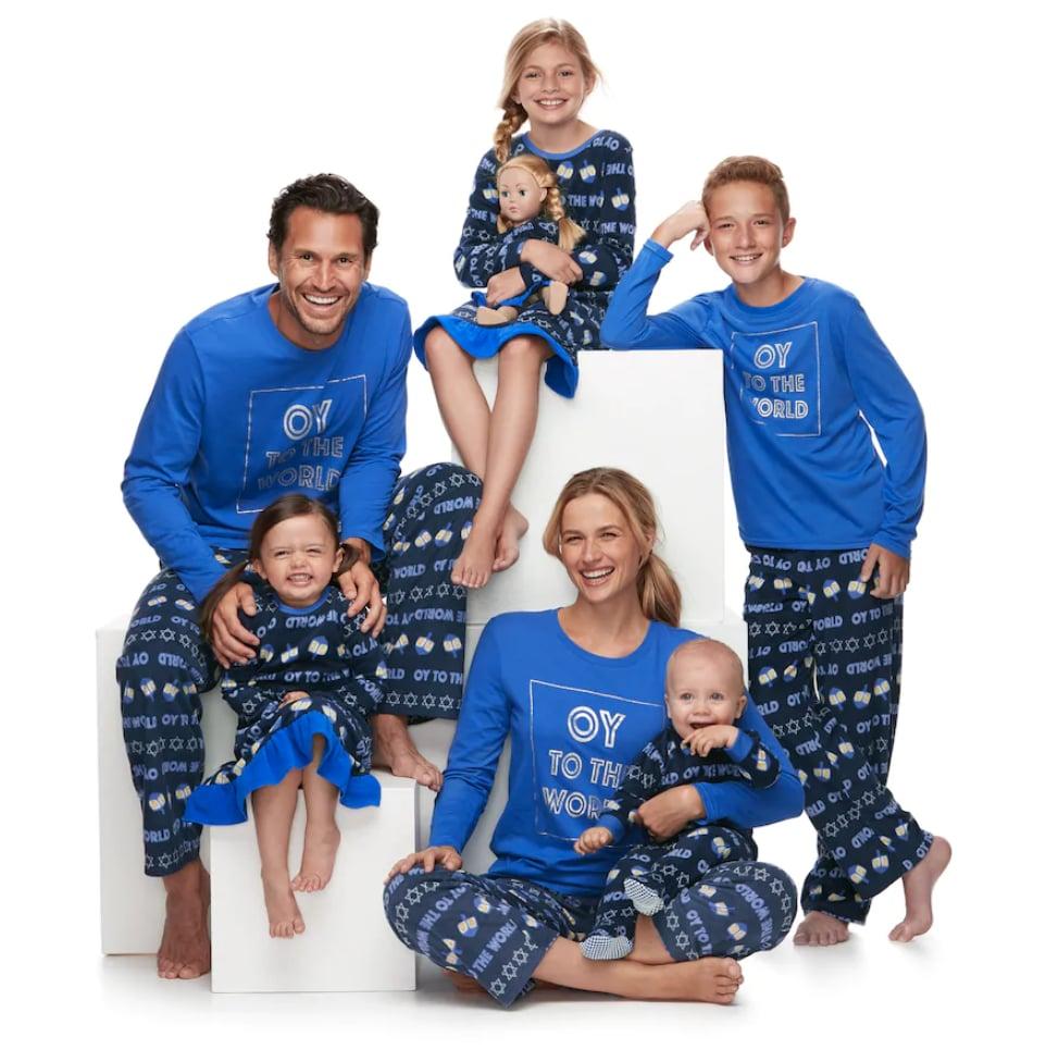 jammies for your families hanukkah pajamas
