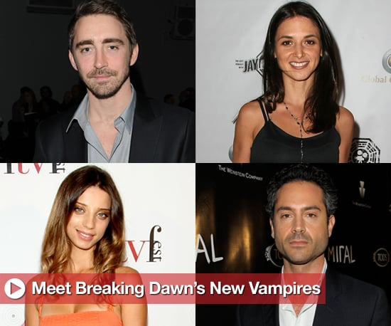Breaking Dawn Vampire Casting Update Includes Members of Irish, Romanian, and Egyptian Covens