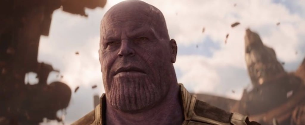 Guys, We Need to Talk About Thanos's Hilarious Makeover in the Infinity War Trailer