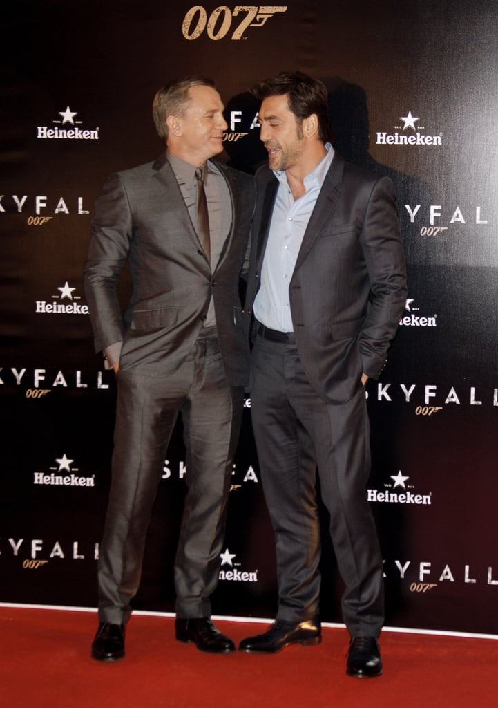 Javier Gets Support From Sister-in-Law Monica at Skyfall in Madrid