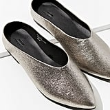 Urban Outfitters Metallic Pointy Mules