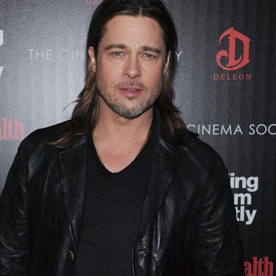 Brad Pitt Pictures at Killing Them Softly NYC Screening