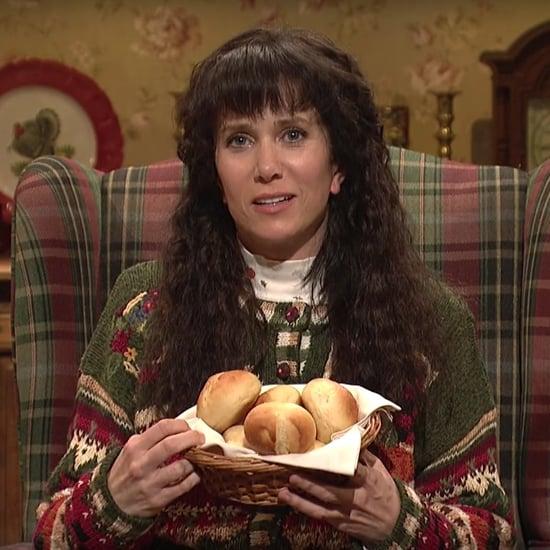 "Kristen Wiig's ""Thanksgiving Foods"" SNL Skit"