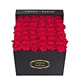 VENUS ET FLEUR Eternity De Venus Large Square Eternity Roses