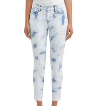 Skinny Mid Rise Stretch Ankle Jean