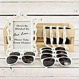 Personalized Plastic Sunglasses