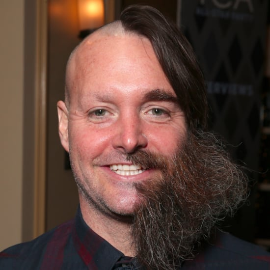 Will Forte Half-Shaved Face Pictures