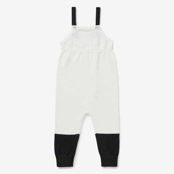 Seed Knit Spliced Overalls ($49.95)