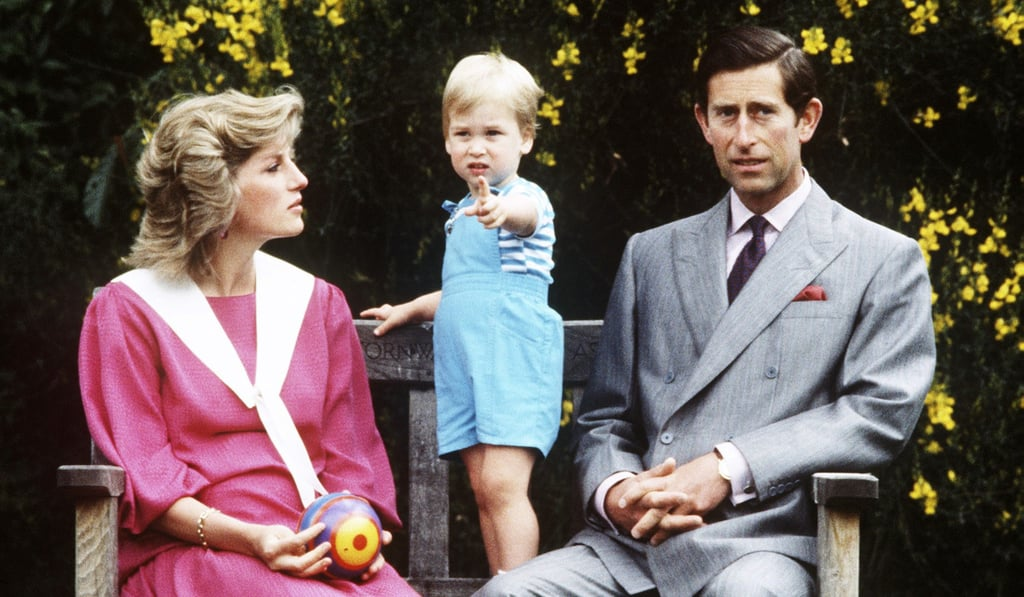 Princess Diana Taking Photos With Her Kids