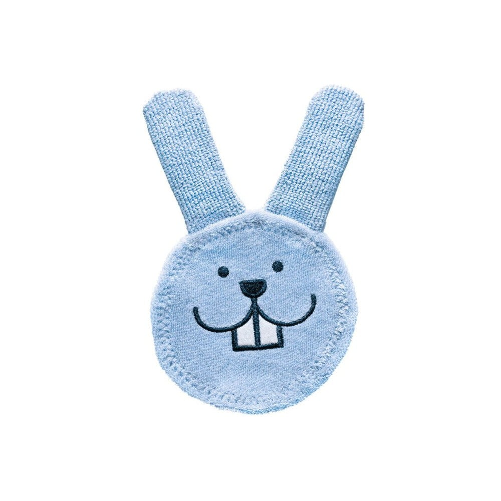Pink MAM Oral Care Rabbit Teething Cloth