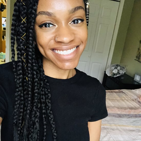 I Did a Box Braids Hairstyle at Home: Editor Experiment