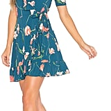 Add florals into your summer rotation by wearing this mini Privacy Please June Dress ($188).
