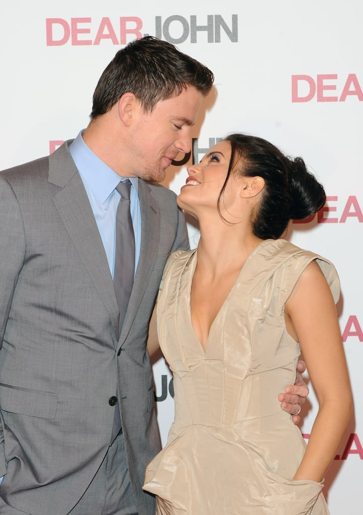 Channing Tatum and Jenna Dewan in 2010