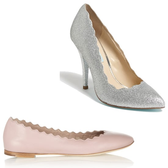 Above: Betsey Johnson Alter Pumps  ($79) Below: Chloé Lauren Leather Ballet Flats  ($475) Related: This Season's Best Scarves