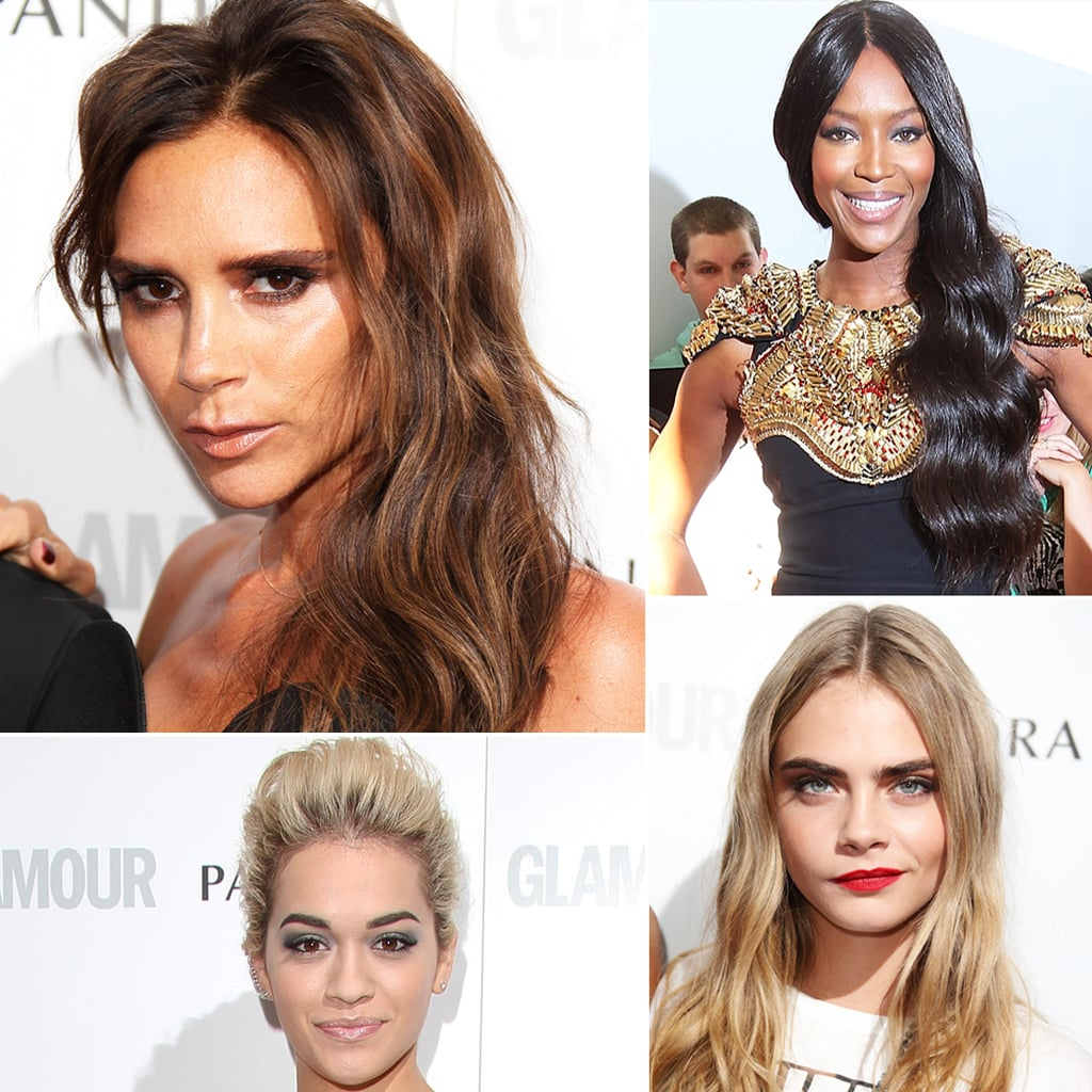 Beauty Looks from the 2013 Glamour Women of the Year Awards