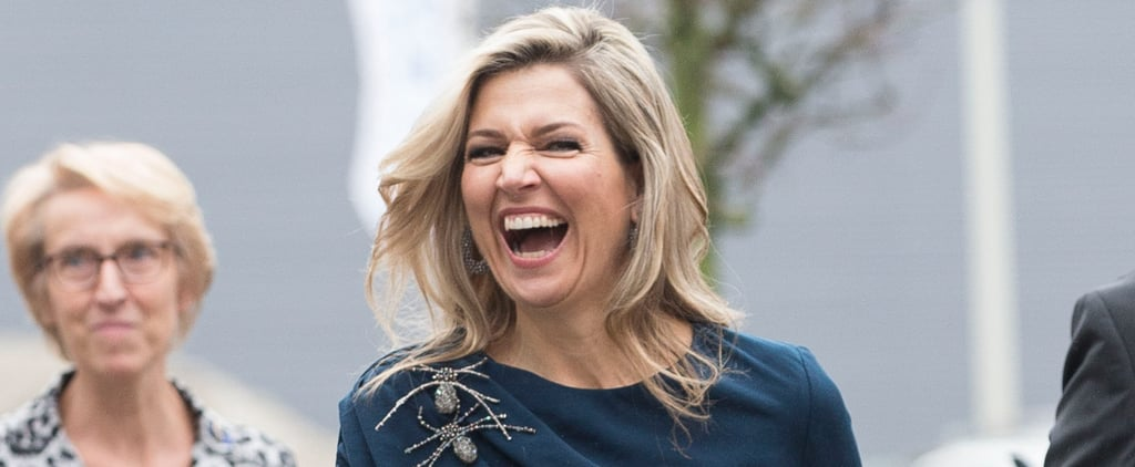 All the Times Queen Máxima Was So Legitimately Excited to See Her Fans, It Showed on Her Face