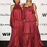 Chloe x Halle Wearing Maria Lucia Hohan at the 2018 Crystal + Lucy Awards