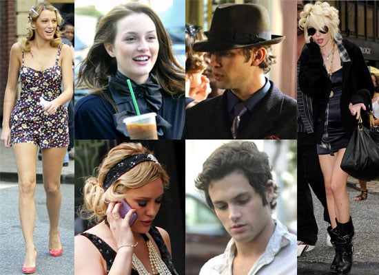 Gossip Girl Cast Filming Season 3