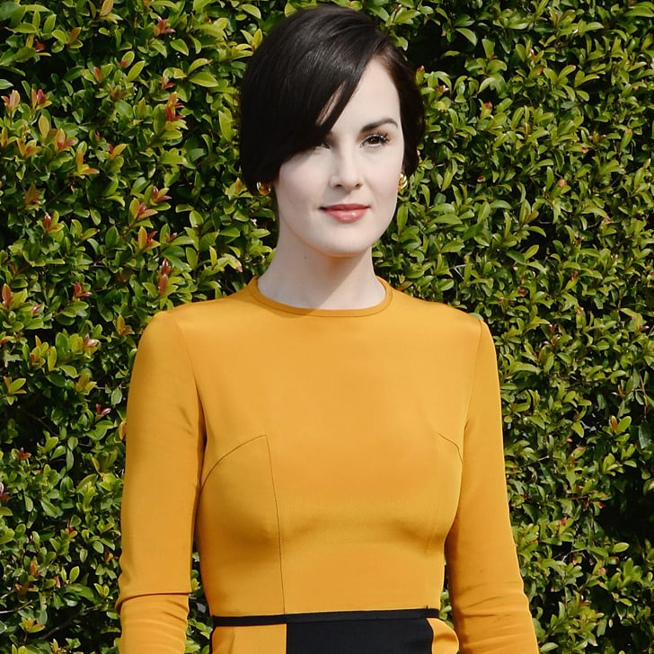 Michelle Dockery Could Not Be Wearing More Gold Right Now