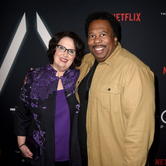 Phyllis Smith and Leslie David Baker The Office Reunion 2019