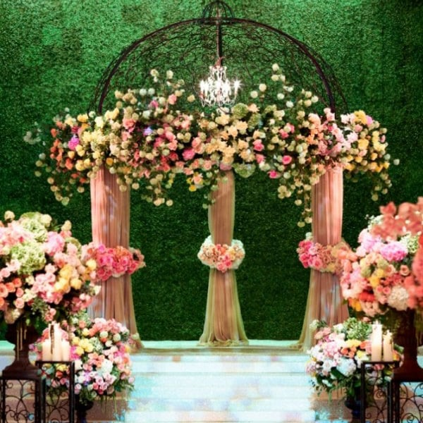 Grass Wall 20 Eye Catching Ideas For Your Wedding