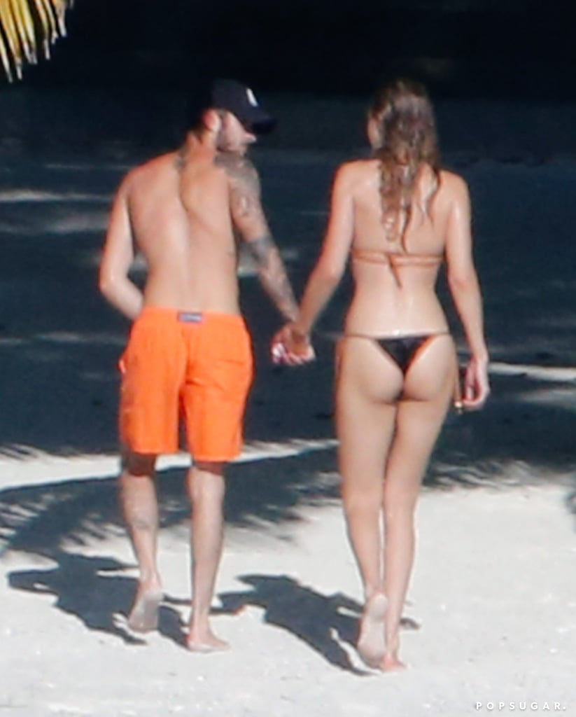 Zayn Malik Strips Down to His Boxer Briefs During a Beach Day With Gigi Hadid in Tahiti