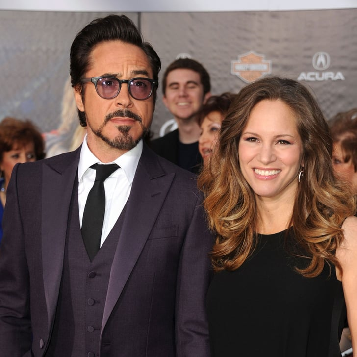 Robert Downey Jr Wife: Robert Downey Jr & Wife Susan Pictures The Avengers