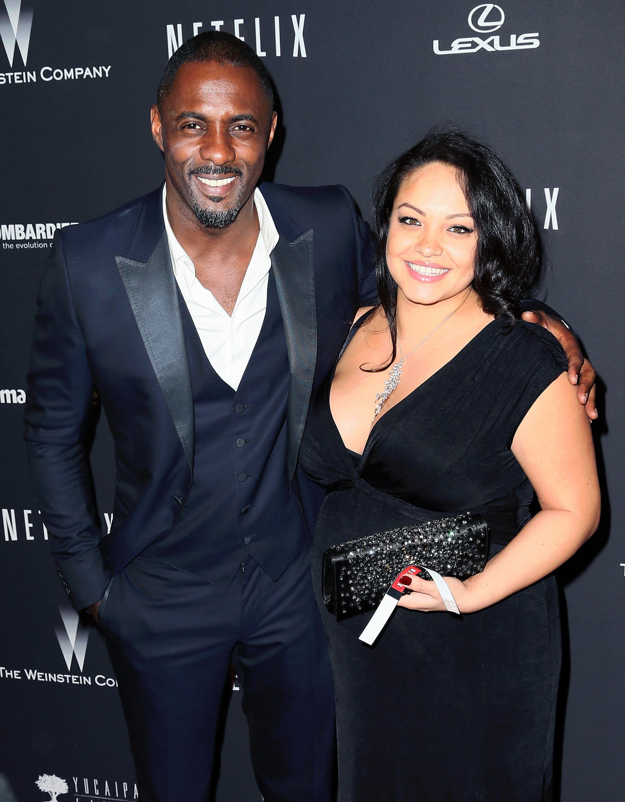 Idris elba dating history