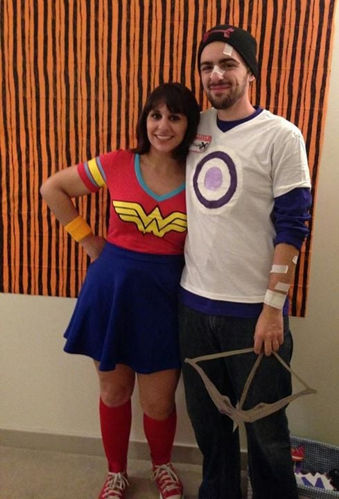 Wonder Woman and Hawkeye