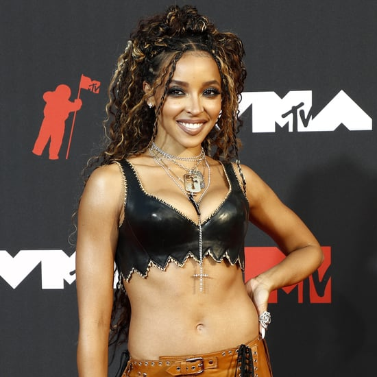 Tinashe's Blue Cutout Poster Girl Dress Is Too Cute