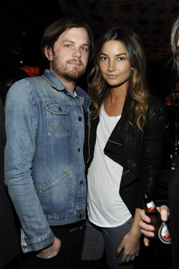 Victoria's Secret Model Lily Aldridge and Kings of Leon Singer Caleb Followill Engaged