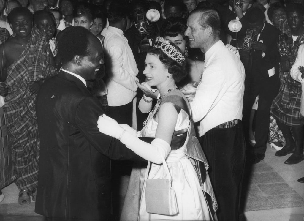 The Queen and President Kwame Nkrumah of Ghana in 1961