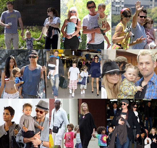 Poll and Photos of Celebrity Families Including Heidi Klum, Victoria Beckham, Tom Cruise, Nicole Richie, and Matthew McConaughey